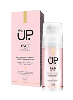 Skin UP +60 Yaş Yenileyici & Sıkılaştırıcı Krem Yaşlanma Karşıtı Gece Gündüz Kremi 50ml